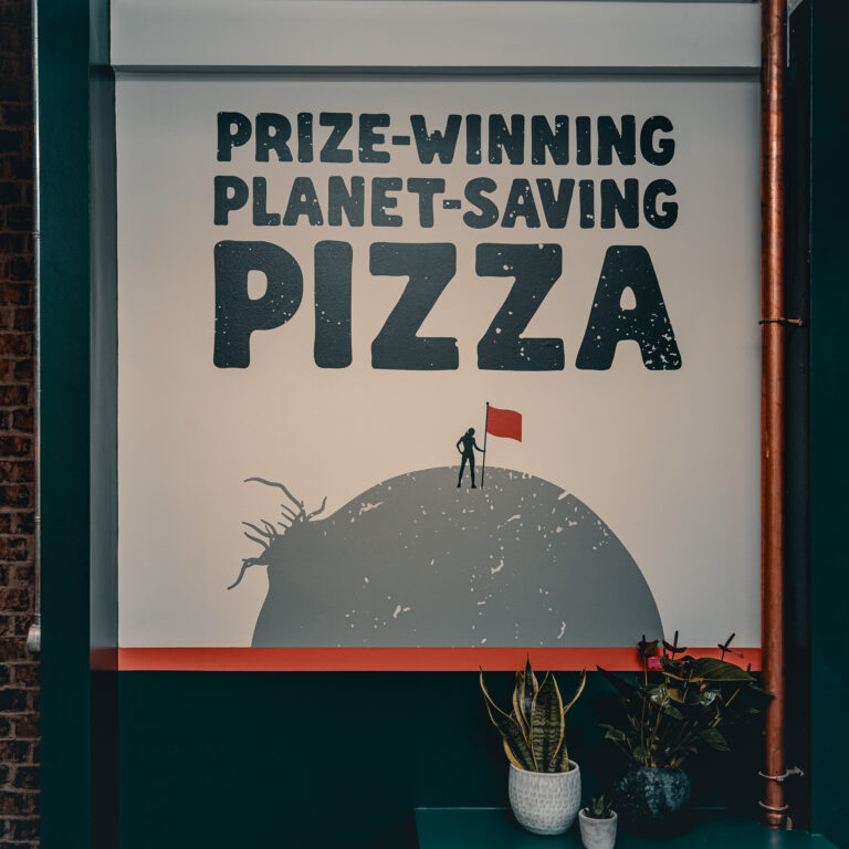 Prize winning planet saving pizza